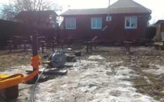 Перенос дачного дома по участку