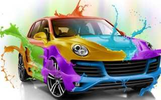Как подобрать краску для машины