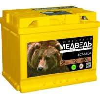 Аккумулятор автомобильный тюменский медведь отзывы