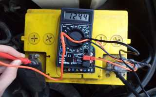 Нормальное напряжение заряженного автомобильного аккумулятора