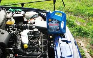 Замена масла в двигателе приора 16 клапанов