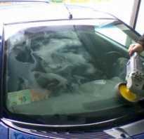 Как убрать царапины на боковом стекле автомобиля