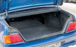 Не держит крышка багажника ваз 2115